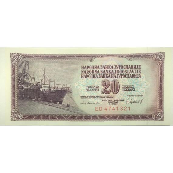 Cédula da Iugoslavia