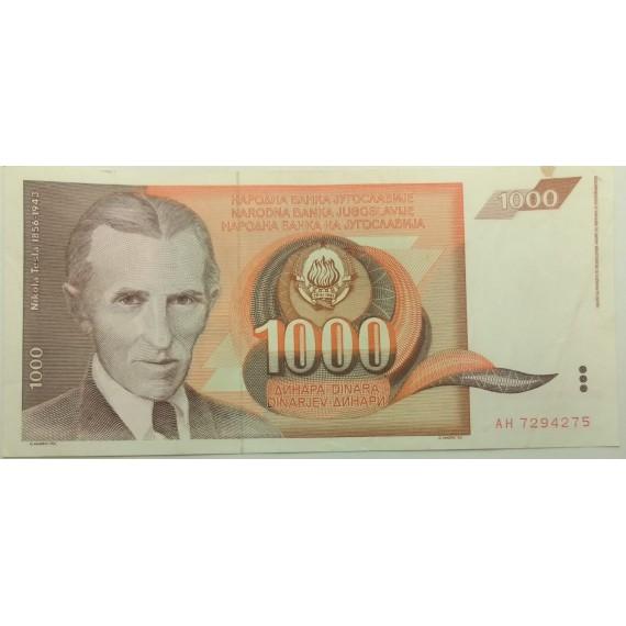 Cédula de Iugoslavia