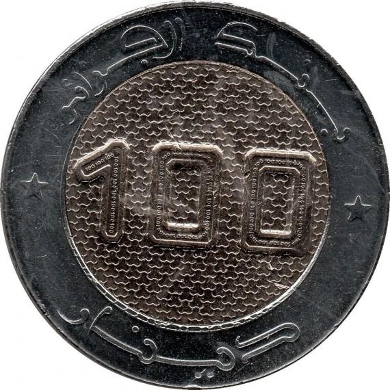 Moeda 100 dinar - Argelia - 2019
