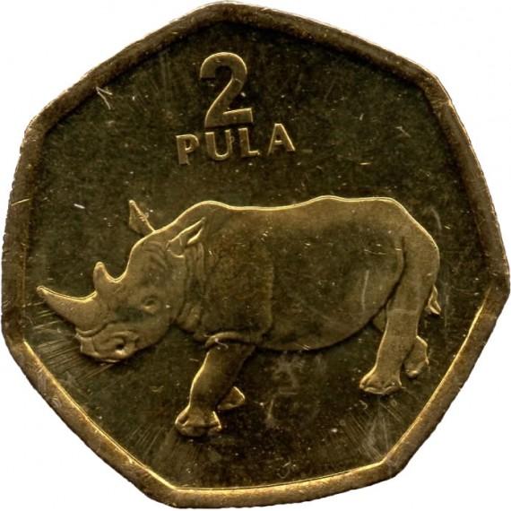 Moeda 2 pula - Botswana - 2004