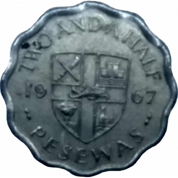 2,50 Pesewas - Gana - 1967
