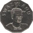 Moeda 50 cents - Suazilândia - 1998
