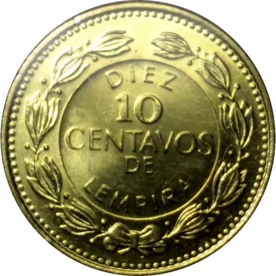 Moeda 0,10 lempira - Honduras - 1995
