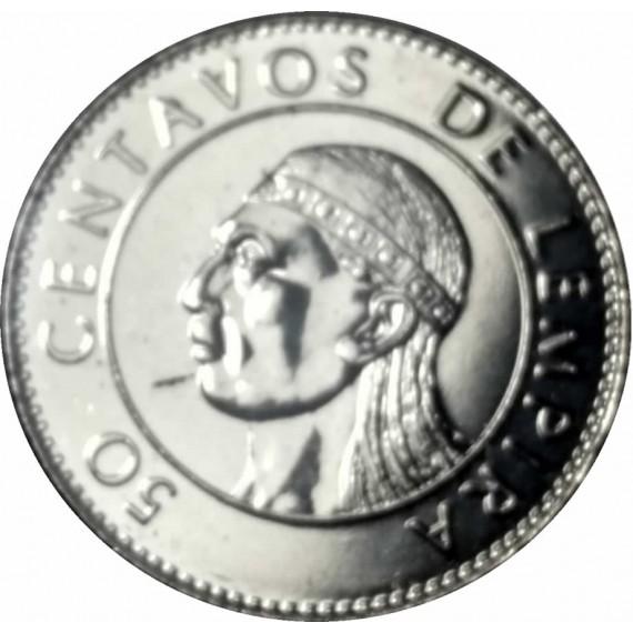 Moeda 0,50 lempira - Honduras - 1994