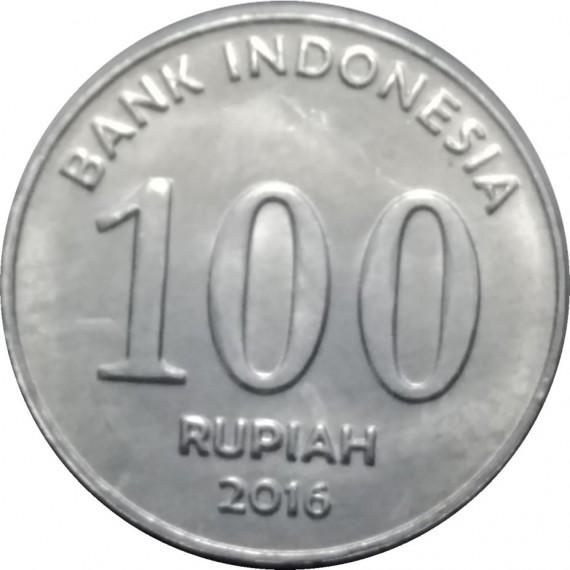 Moeda 100 rupiah - Indonésia - 2016