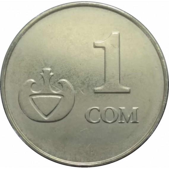 Moeda 1 som Quirquistão 2008