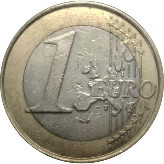 Moeda 1 Euro - Belgica - 2004