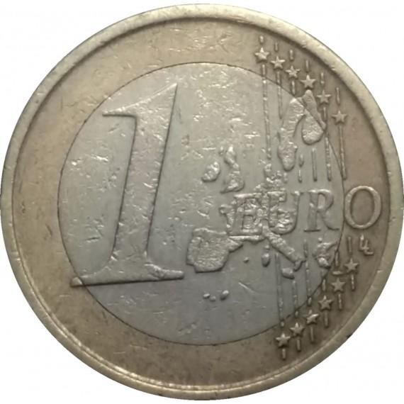 Moeda 1 Euro - Espanha - 1999