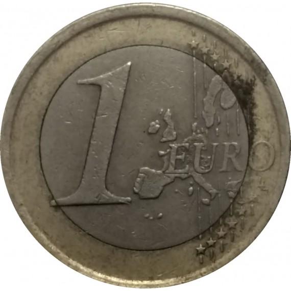 Moeda 1 Euro - Espanha - 2001