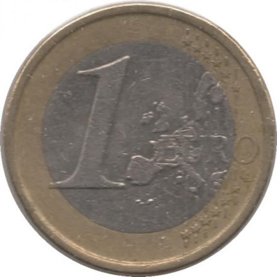 Moeda 1 euros - Espanha - 2000