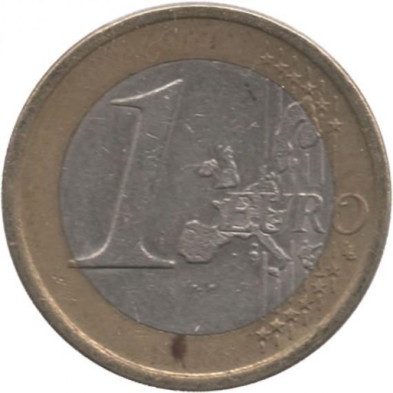 Moeda 1 euros - Espanha - 2003
