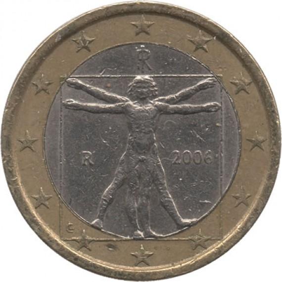 Moeda 1 euro - Italia - 2006