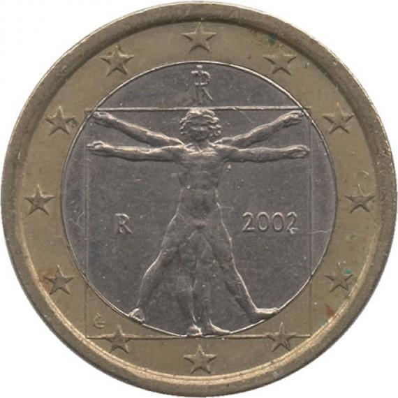 Moeda 1 euro - Italia - 2002