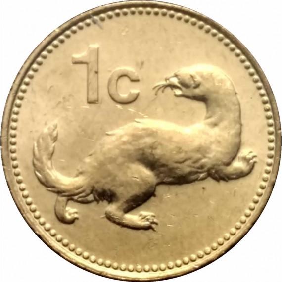 Moeda 1 centavo Malta 1998