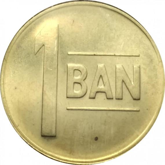 Moeda 1 bani - Romênia - 2011