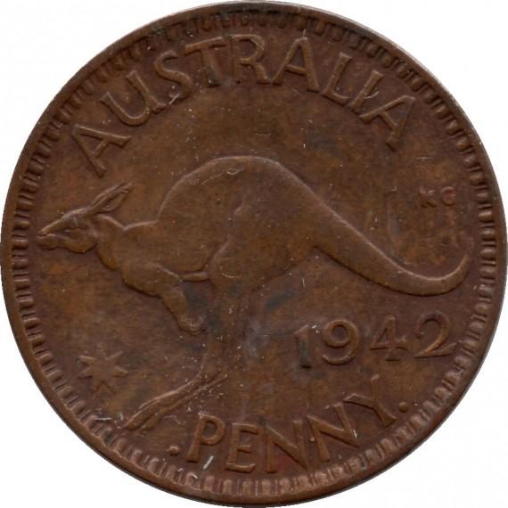 Moeda da Australia - 1942