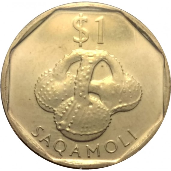 Moeda 1 Dolar - Fiji - 2010