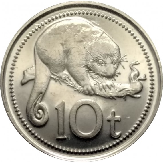 Moeda 10 kina - Papua Nova Guine - 2006