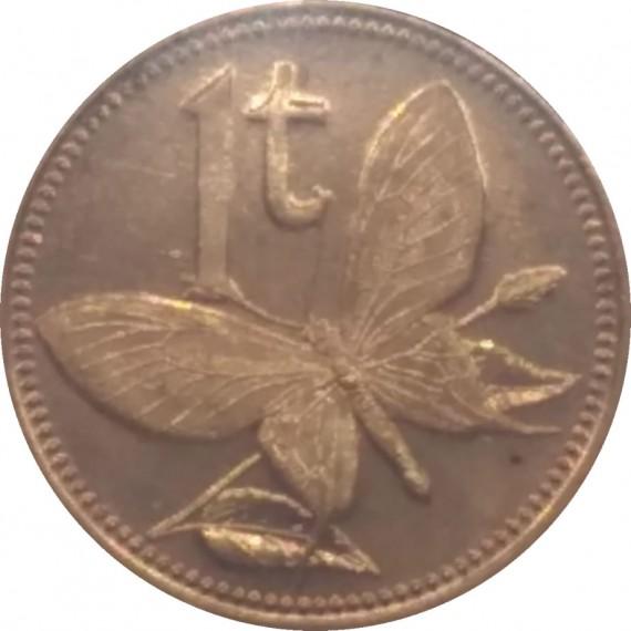Moeda de Papua Nova Guiné - 2002