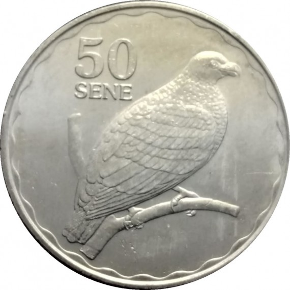 Moeda 50 sene - Samoa - 2011