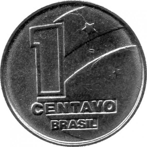 Moeda 1 centavo de cruzado novo - Brasil - 1989
