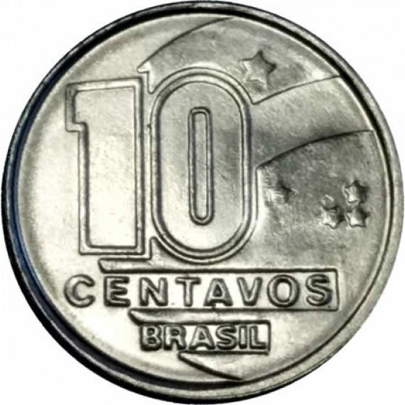 10 Centavos do Cruzado Novo FC - Brasil - 1989 - REF:408