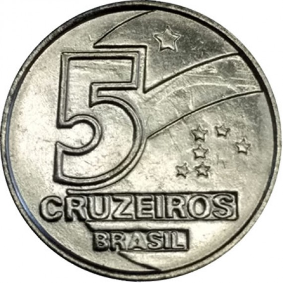 5 Cruzeiros FC - Brasil - 1992 - REF:416