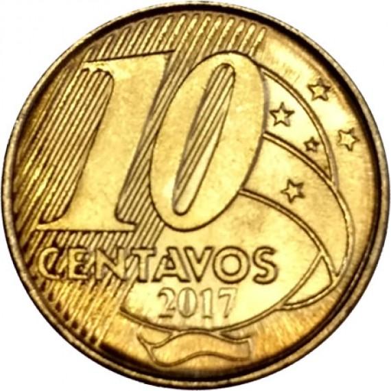 10 Centavos Real FC - Brasil - 2017