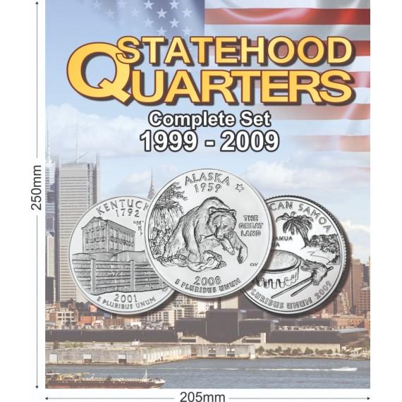 Album para Coleção EUA 1/4 Dolar Estados
