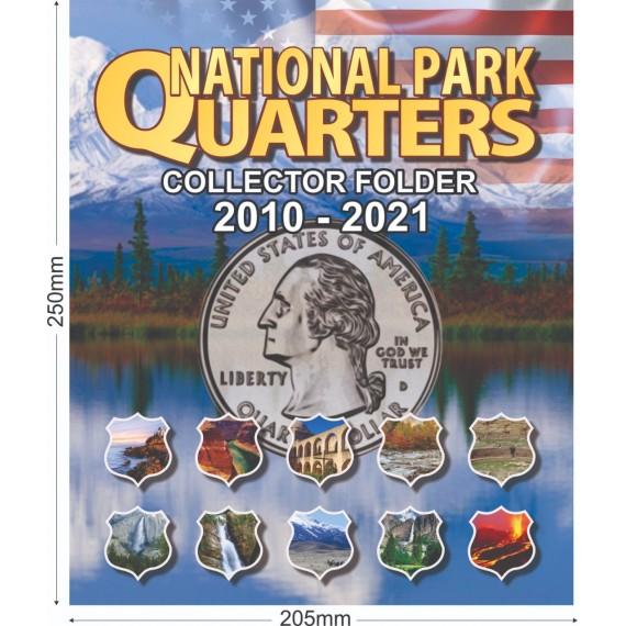 Album para Coleção EUA 1/4 Dolar Parques