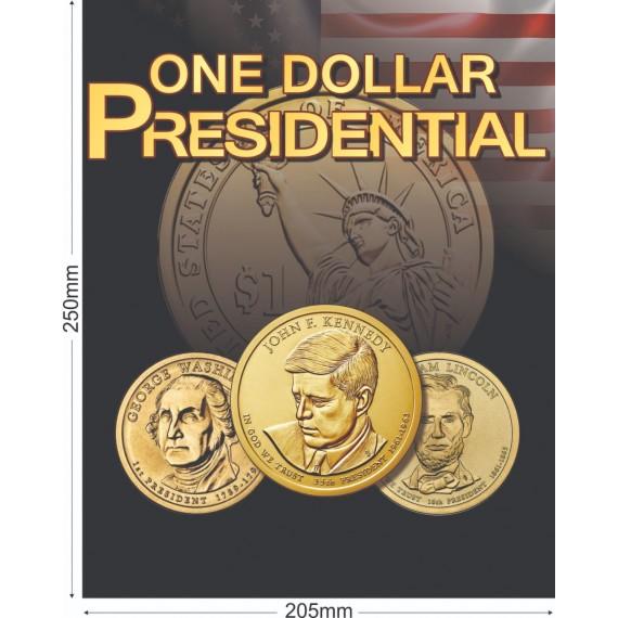 Album Coleção EUA 1Dolar - Presidentes