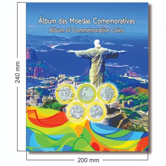 Album para moedas da Olimpiadas Rio 2016