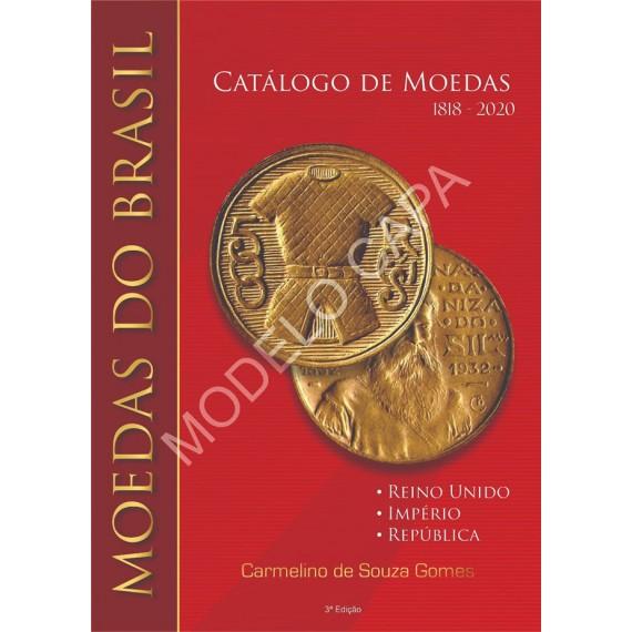 Livro Catálogo de Moedas do Brasil 1818 - 2020