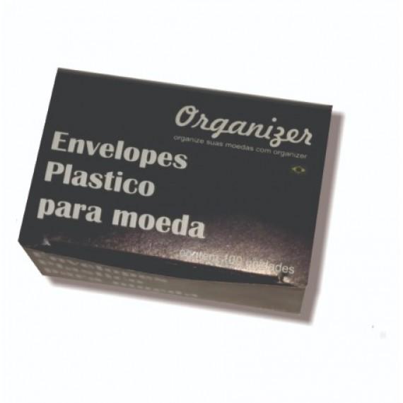envelopes plásticos para moedas individuais