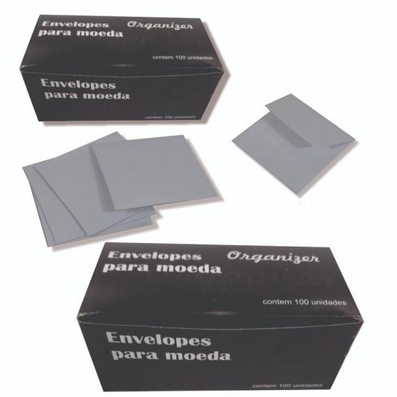 Envelope de papel para moedas